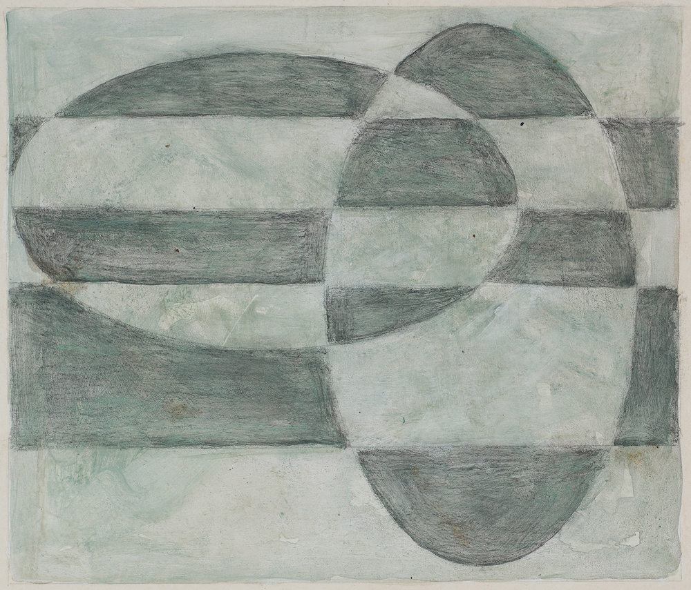 Peter Young,  #23 - 1989 , 1989, Acrylic on paper 12 3/8 x 15 inches (31 x 38.1 cm)