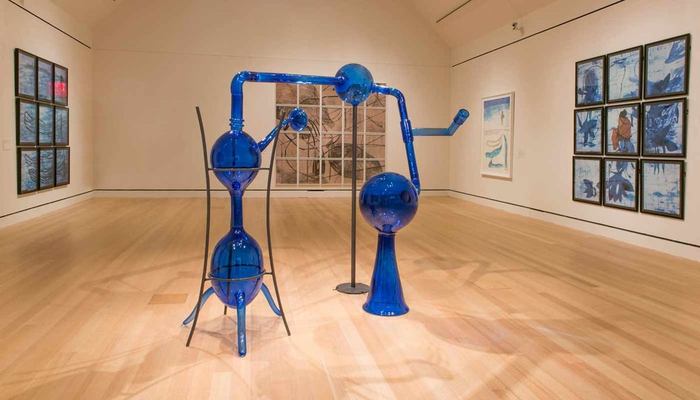 María Magdalena Campos-Pons: Alchemy of the Soul: Maria Magdalena Campos-Pons,  installation view, Peabody Essex Museum, Salem, MA, January 9 — April 3, 2016