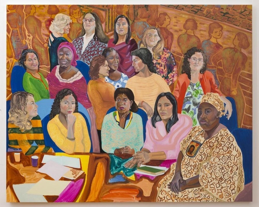 Aliza Nisenbaum,  MOIA's NYC Womens Cabinet , 2016. Courtesy James Cohan, New York.