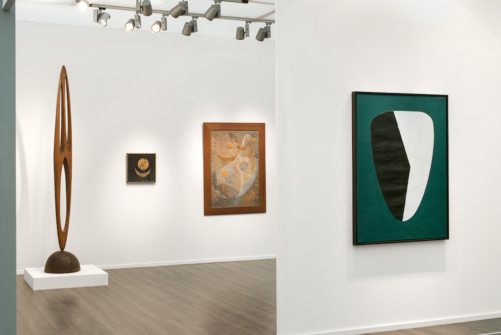 Frieze Masters 2016 , installation view,  Wolfgang Paalen and Abstract Spiritualism,  Regents Park, Gloucester Green, London, Booth G12, October 6 - 9, 2016, photographer: Charlie Littlewood