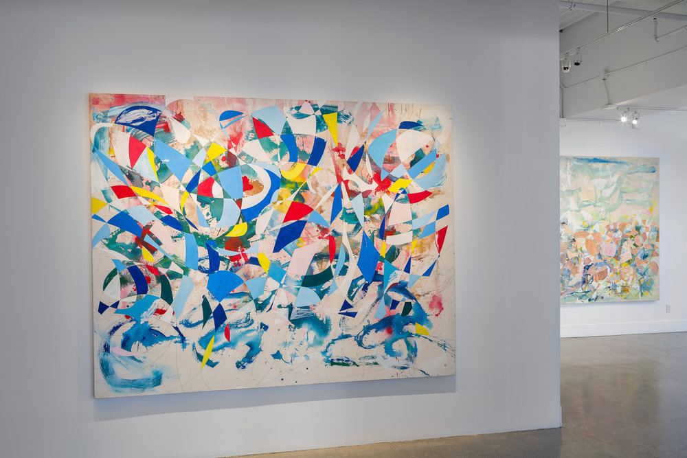Peter Young: Ellipse Paintings , installation View, Gallery Wendi Norris, San Francisco, CA, September 8 – November 4, 2016, Photography: Byan Hewitt