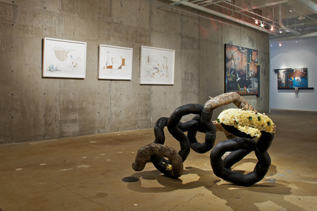 Jagannath Panda: Cults of Serendipity , installation view, Gallery Wendi Norris, San Francisco, CA, May 3 — June 30, 2012