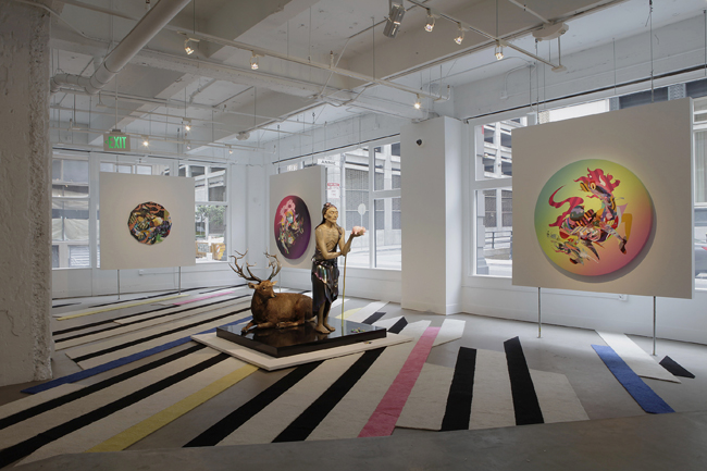 Tomokazu Matsuyama: The Future is Always Bright,  installation view, Gallery Wendi Norris, San Francisco, CA, May 3 — June 30, 2012