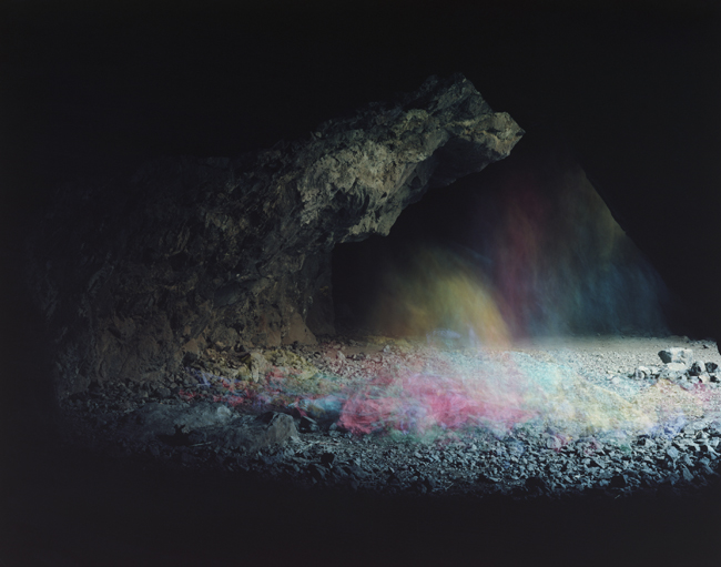 Brice Bischoff,  Bronson Caves #7,  2010, C-print, 38 x 48 inches (97 x 122 cm), Edition of 5