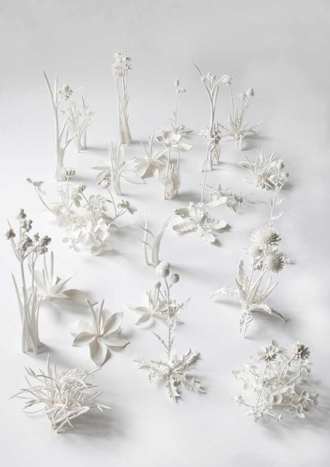 Tania Kitchell,    Occupy White,  2012, ABS Plastic, 38 x 56 x 15 inches (96.5 x 142.25 x 38 cm)