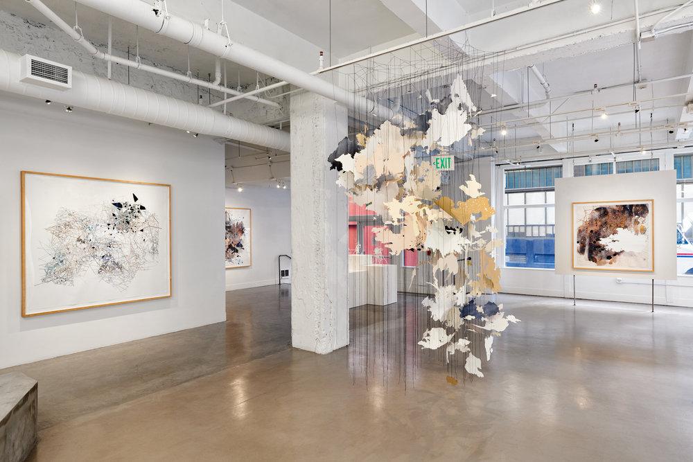 Val Britton: Transmissions,  installation view, Gallery Wendi Norris, San Francisco, CA, April 28 - July 5, 2016, photographer: John Janca