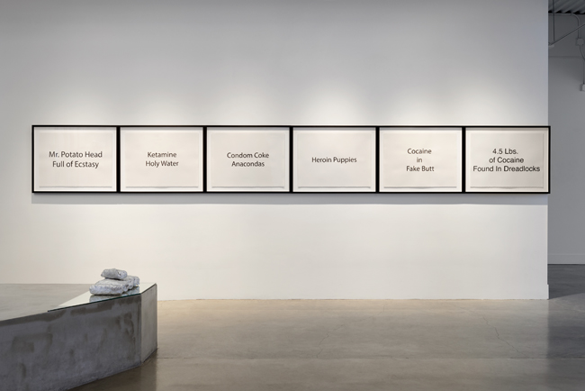 Julio César Morales: Emotional Violence,  installation view, Gallery Wendi Norris, San Francisco, CA, November 5, 2015 — January 22, 2016, photography: John Janca
