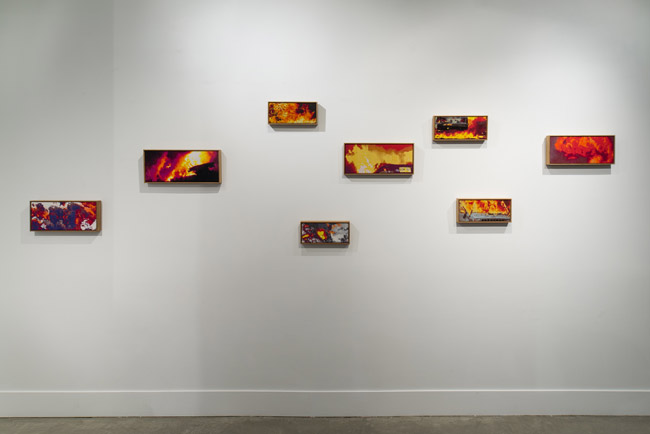 Sean Cordeiro & Claire Healy: Architects of Destruction,  installation view, Gallery Wendi Norris, San Francisco, CA, September 4 — November 1, 2014, Photographer: JKA Photography