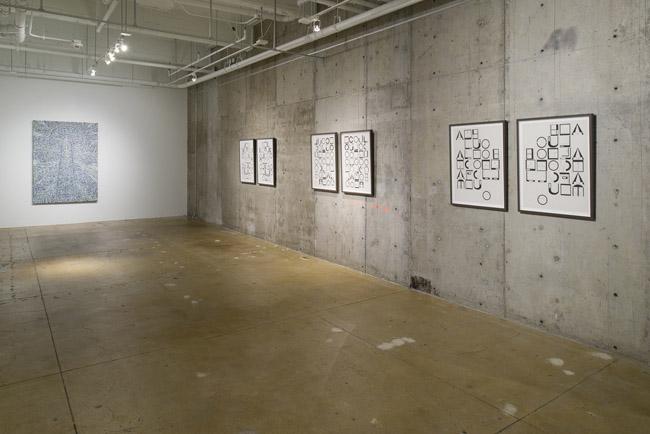 Helen Rebekah Garber: Numbers,  installation view, Gallery Wendi Norris, November 6 – December 20, 2014, Photographer: JKA Photography