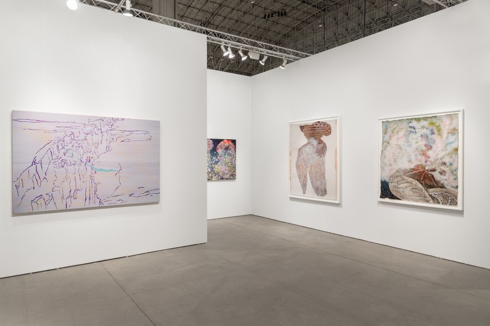 EXPO Chicago 2017,  installation view, Navy Pier, Chicago, IL, Booth 237, September 13 - 17, 2017  photography: Evan Jenkins