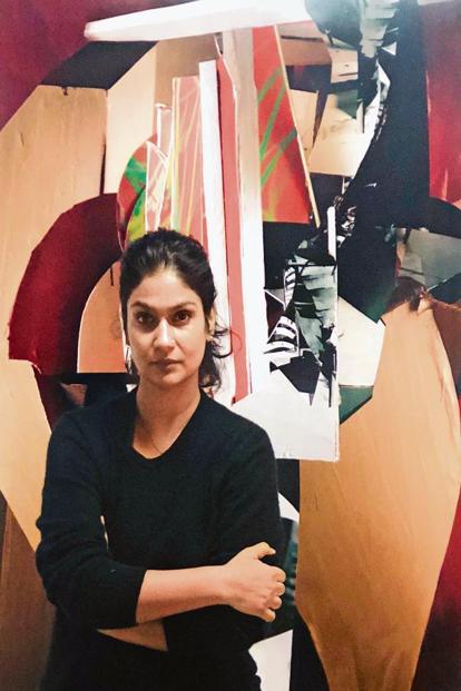 Yamini Nayar at her studio. Photo courtesy Yamini Nayar