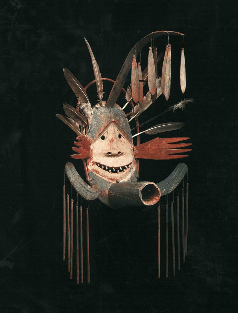 Yup'ik,  Complex Mask , circa 1890-1905.Photo: Courtesy of Di Donna Galleries