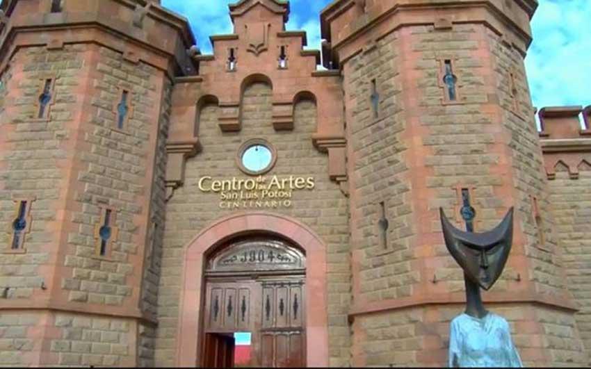 The new museum, located in the Centro de las Artes in San Luis Potosí.