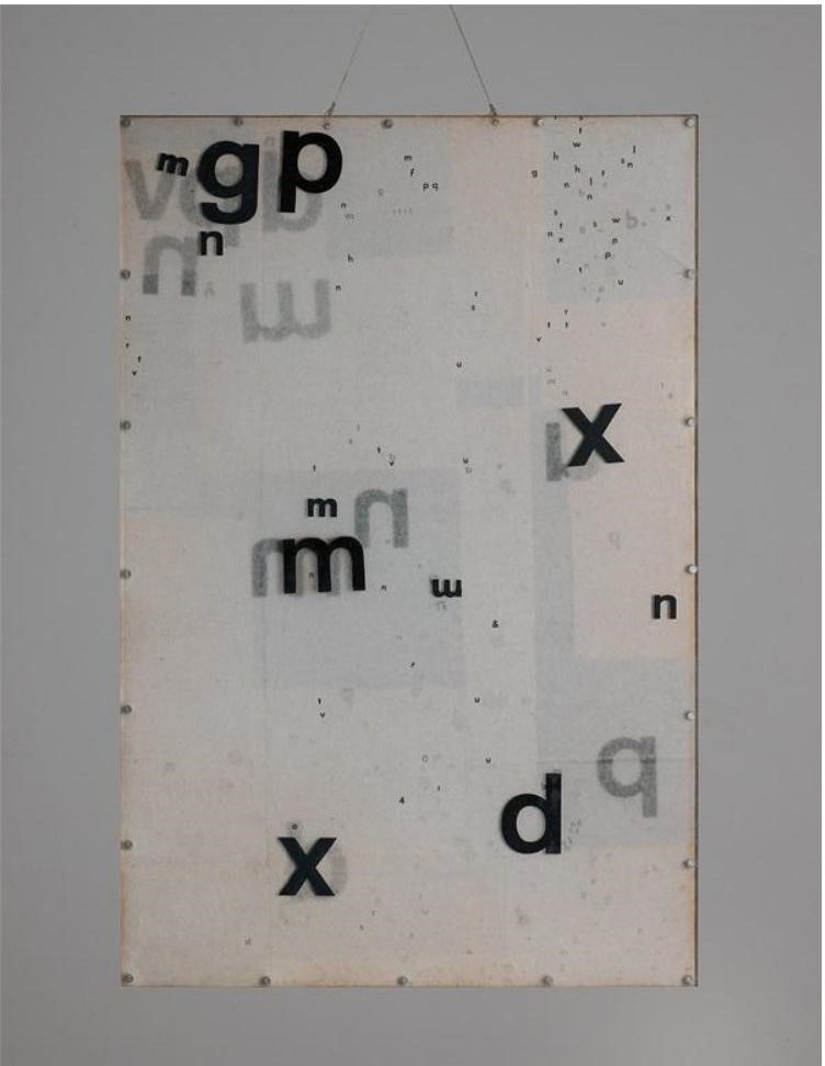 Mira Schendel's  Objeto gráfico  (1973), sold for $485,000 at Phillips (estimate: $300 –500,000).  Image: Courtesy of Phillips.