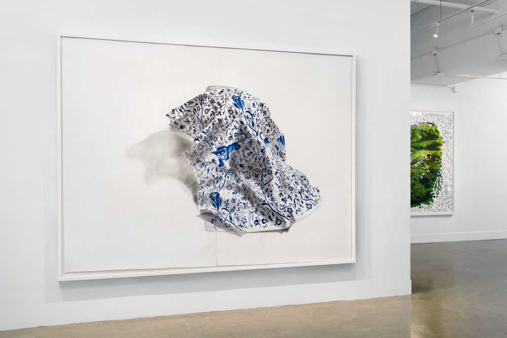 Firelei Báez: Trust Memory Over History,  installation view, Gallery Wendi Norris, San Francisco, CA, January 27 — March 5, 2016, photography: John Janca