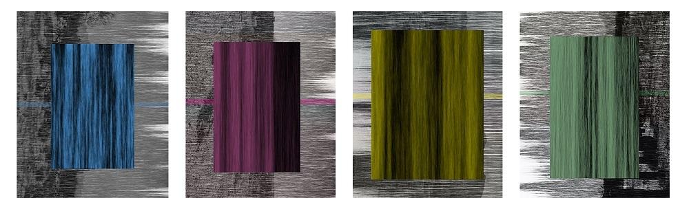 Julio César Morales,  Cuatro Caminos,  2017, Photographic collage, 30 x 20 inches (76.2 x 50.8 cm), Edition of 3 + 2AP