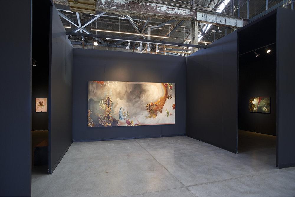 Eric Siemens,  Raveling Relic , installation view, Gallery Wendi Norris Offsite, 555 20th Street, Pier 70, San Francisco, CA, September 8 — October 6, 2108
