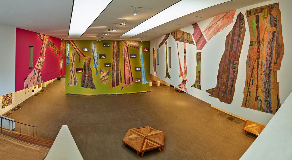 FEATURED MUSEUM EXHIBITION   Ranu Mukherjee | A Bright Stage   July 14, 2018 – January 20, 2019 | de Young Museum, San Francisco, California