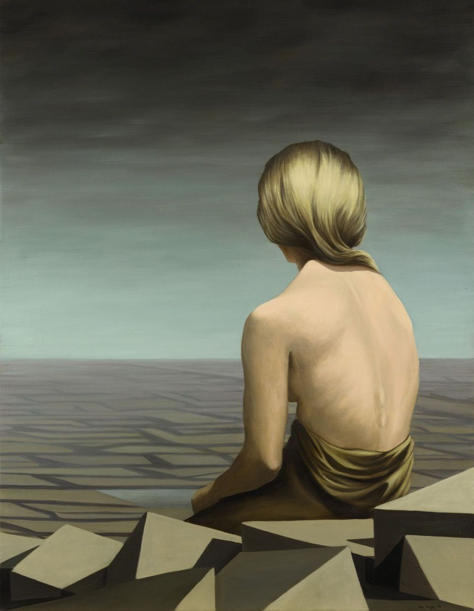 Kay Sage,  Le Passage , 1956. Courtesy of Sotheby's.