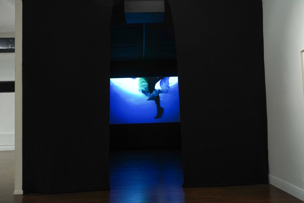 Ana Teresa Fernández: Of Bodies and Borders,  installation view, Gallery Wendi Norris Offsite, 6391 NW Second Avenue, Miami, FL, November 2 - December 8, 2018, photography: Sergi Alexander / Eyeworks Production