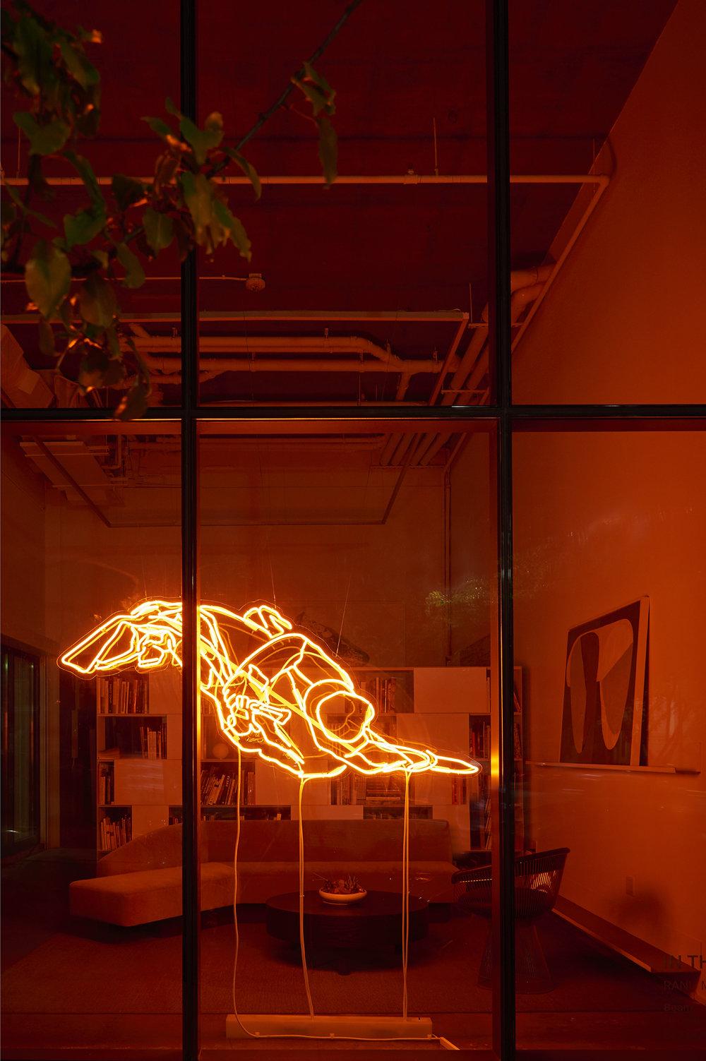 GALLERY WENDI NORRIS IN THE WINDOW   Ranu Mukherjee | Beam   Fall 2018 | Gallery Wendi Norris Headquarters, San Francisco, CA
