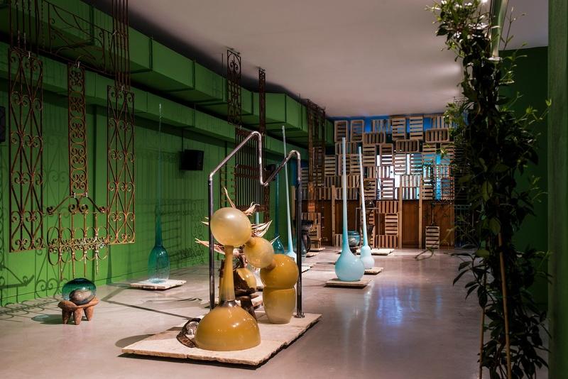 María Magdalena Campos-Pons: If I Were A Poet, installation view, Gallery Wendi Norris Offsite, 649 Mason Street, San Francisco, CA, January 11 - 28, 2018, photography: Maciek Janicki