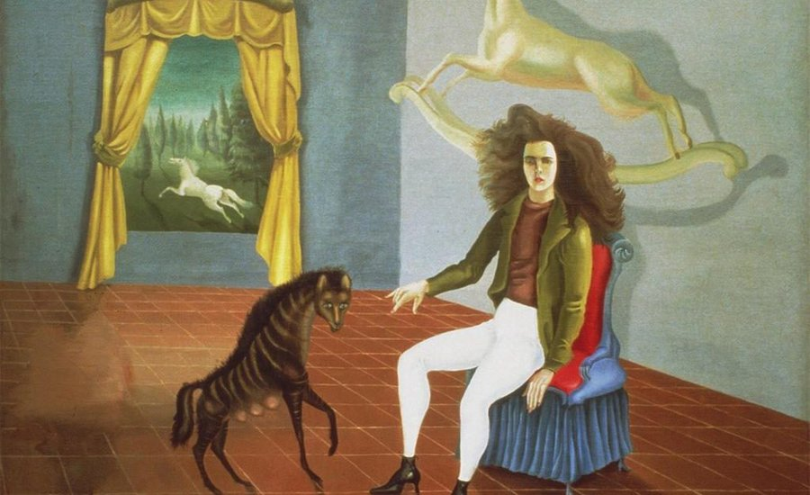 "Leonora Carrington's ""Self Portrait"" (1938). Via IDOL Magazine."