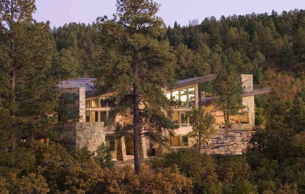 Wings in the Woods     |  Castle Pines, Colorado      AWARDS    +  2009 National Award  for Best One-of-a-Kind Home
