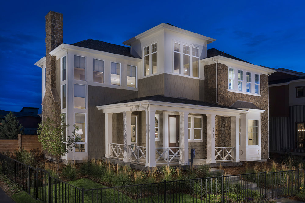 Haus at Stapleton    |  Denver, Colorado     AWARDS   +  2015 Gold Nugget Award of Merit  for Best Single Detached Home 3,000-3,499 Sq. Ft.