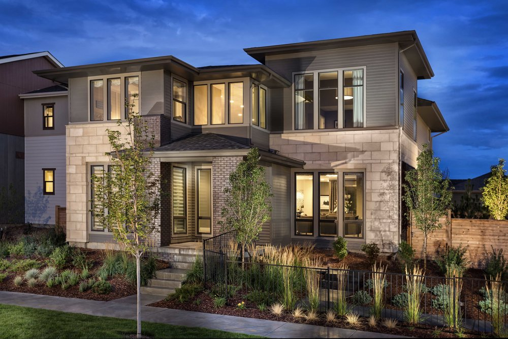 Vue   | Denver, Colorado    AWARDS  +  2014 Best in American Living  for Best Detached Home 2,501-3,000 Sq. Ft.  +  2014 Denver MAME Award  for Best Architectural Design of a Detached Home 2,600-3,500 Sq. Ft.  +  2014 Gold Nugget Award of Merit  for Best Single Family Detached Home 3,000-3,499 Sq. Ft.