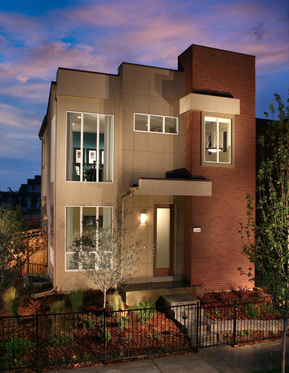 Balboa at Stapleton   | Denver, Colorado    AWARDS  +  2008 Denver BAR Award  for Best Detached Home Priced Over $600,000