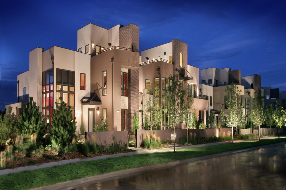 Sky Terraces   | Denver, Colorado    AWARDS  +  2007 National Gold Award  for Attached Community of the Year  +  2007 National Gold Award  for Best Attached Home Plan Priced Over $500,000  +  2007 Gold Nugget Award  for Best Attached Housing Project Under 18 DU / Ac.  +  2006 Denver Bar Award  for Attached Home of the Year  +  2006 Denver Bar Award  for Best Attached Home Priced Over $375,000