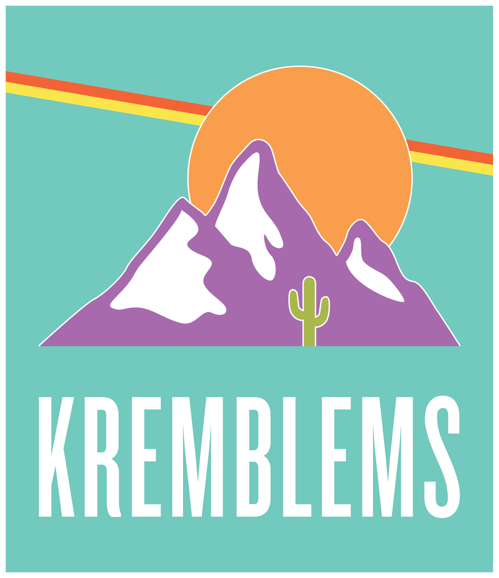 The locally-based Kremblems Collective features projects like Lucid Vanguard and 26 BATS!
