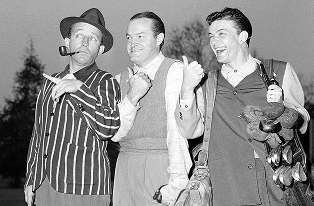 The Big 3: Bing Crosby, bobe hope and frank sinatra
