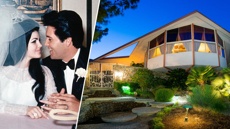 ELVIS PRESLEY AND PRISCILLA PRESLEY HONEYMOONED IN PALM SPRINGS