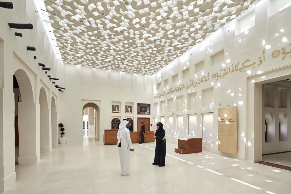 Interpretive graphics system for the four Msheireb Museums in Doha, Qatar. Role: Art Direction and Design