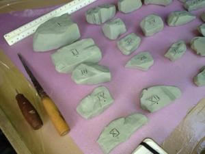 mini-megalith model