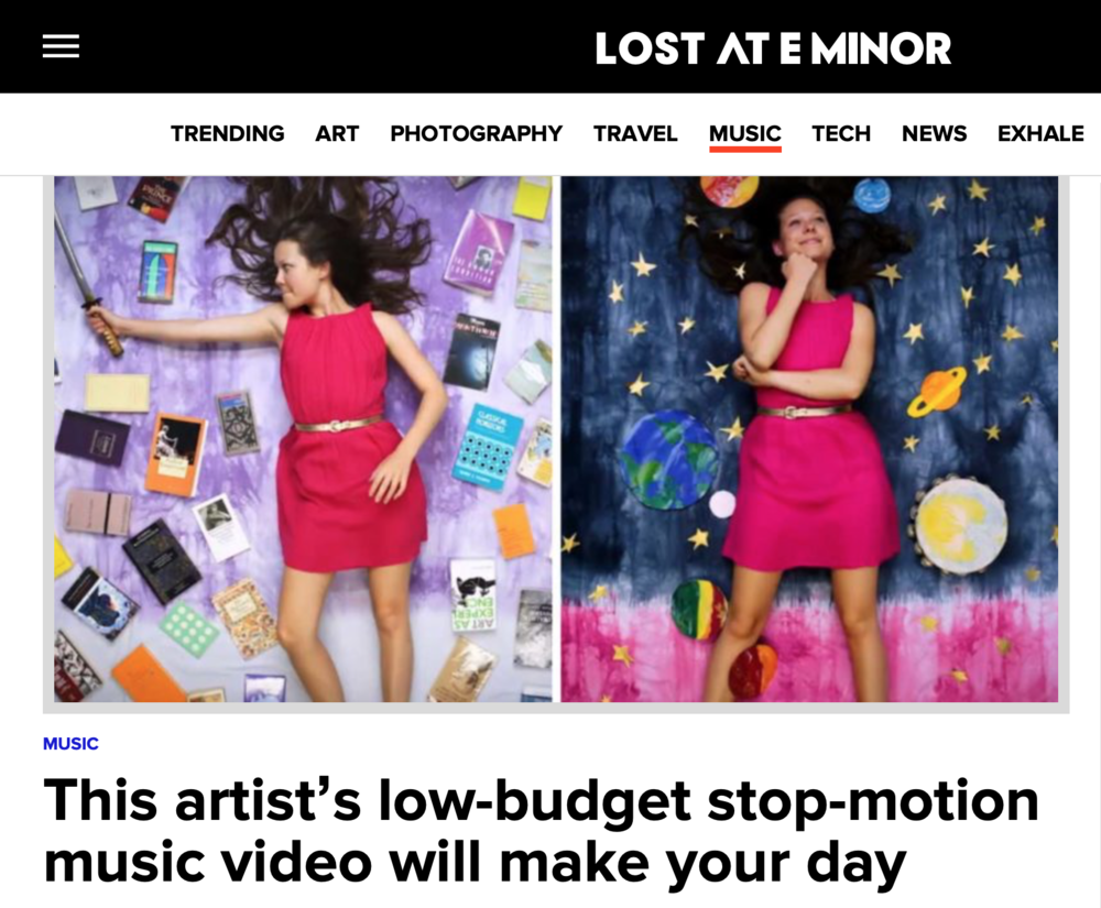 Read full interview with  Lost at E Minor