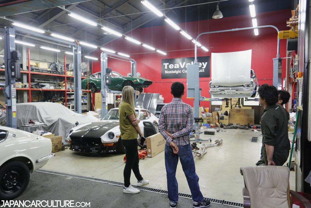 Workshop Visiting Guide Japan Car Culture