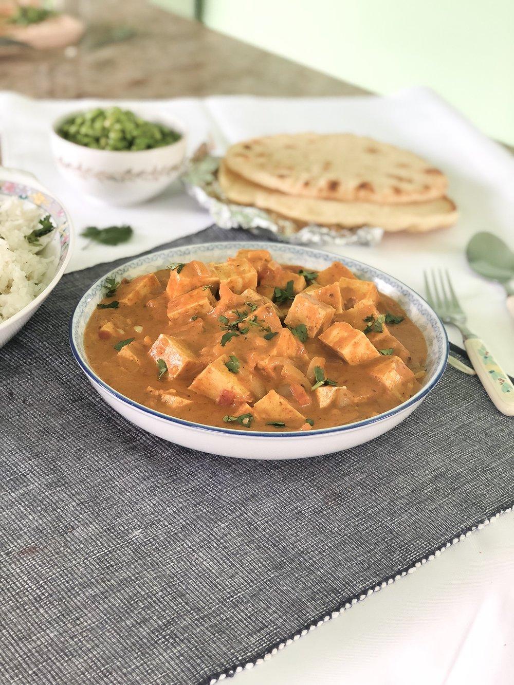 Tofu au ''beurre'' végétalien