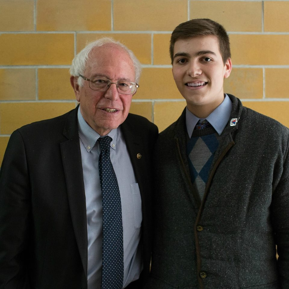 Sen. Sanders hired Casey as his youngest full-time staffer, and Casey traveled throughout the country mobilizing voters.