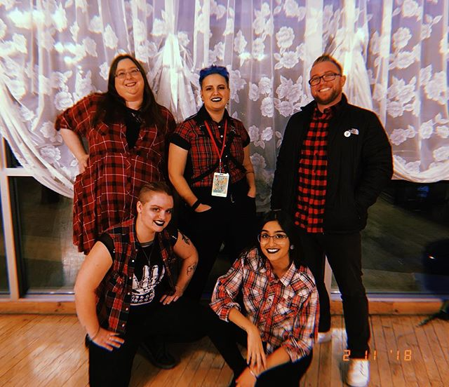 the burlington slam project made it to semis at the canadian festival of spoken word tonight and left our hearts on the stage. I'm so incredibly proud of these lovely humans, thank you for holding me gently, for sharing in laughter, heartbreak, love, shitty cis men and everything else. I love you all so much #cfsw2018