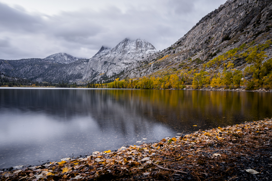 Fall sunrise at June Lake Loop, CA.