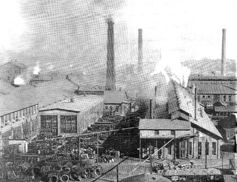 Heavy industry at the turn of the century