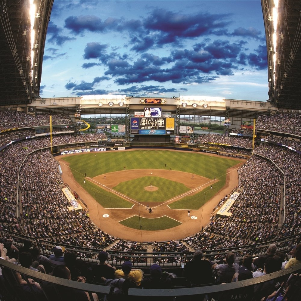 Milwaukee Brewers Baseball Club - One of Wisconsin's favorite experiences - nothing beats the iconic experience of a summer tailgate followed by a Brewers game.