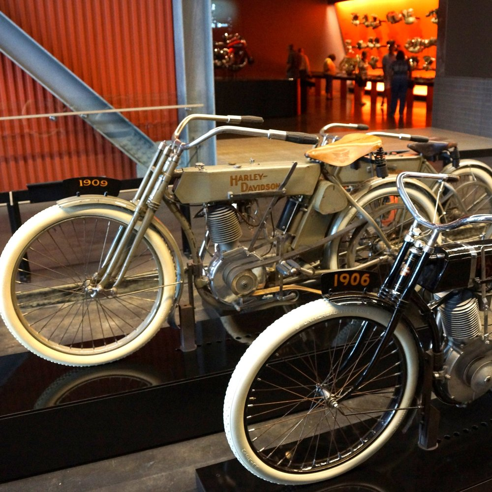 Harley-Davidson Museum® - Take your tour experience to the next level: Behind-the-scenes; Highlights; Audio; Steel Toe; Bike, Brats, & Beer; Dream Experiences; and Inside H-D: All Day Experience. It's all here.