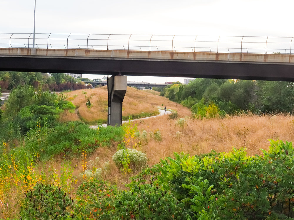 three bridges park -