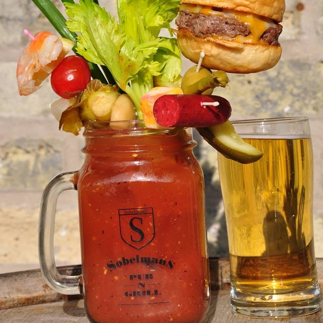 Sobelman's Pub & Grill donated $1 for every bloody mary sold -  956  during the week.