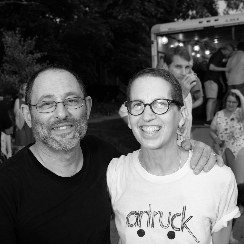 Neil Good and Julie Cowan, Artruck Founder.