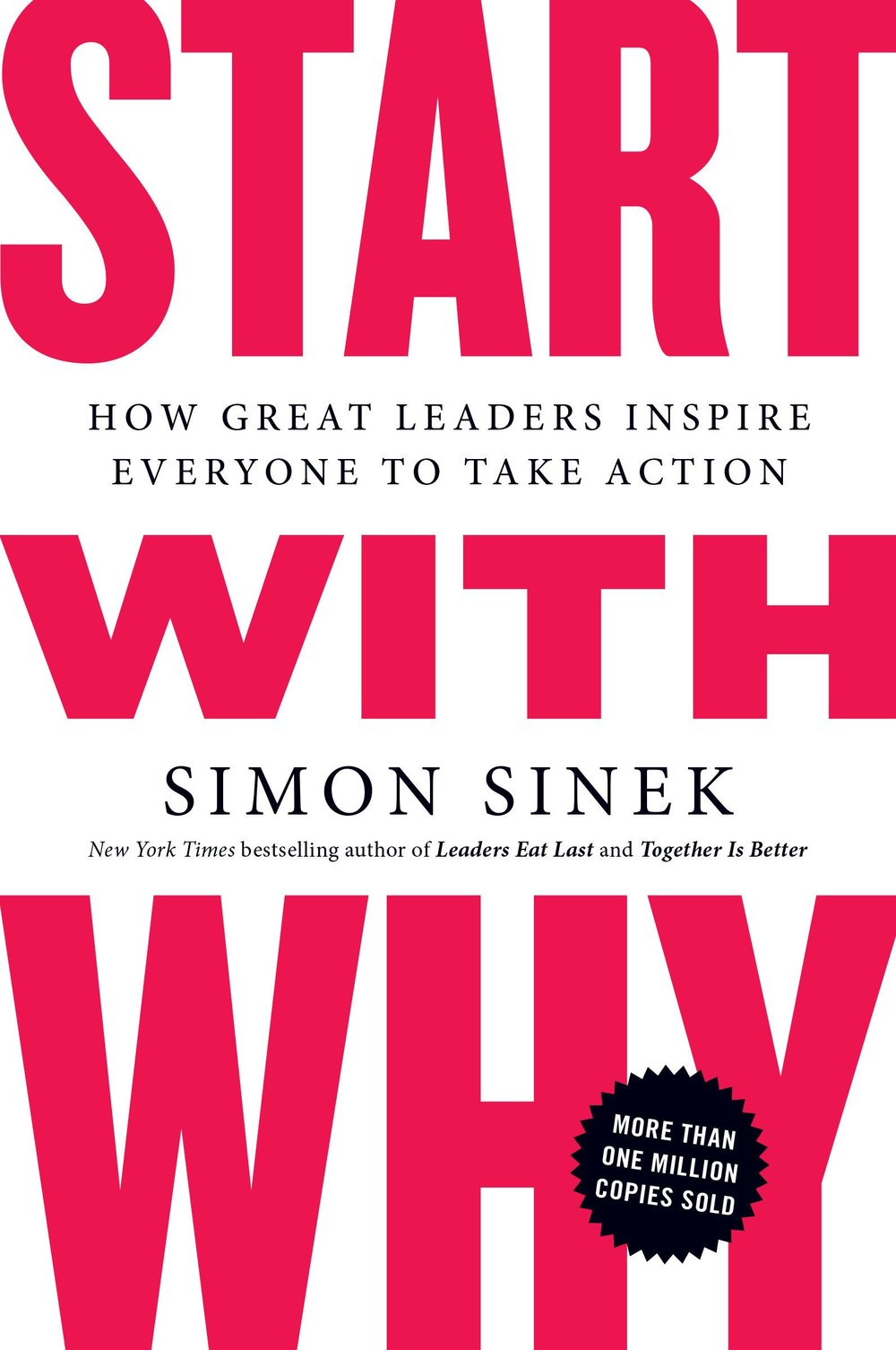 Start With Why - By Simon SinekThis book has been on my reading list for a while. I first learned of Simon Sinek in a leadership seminar in which we watched his 99U talk, Why Leaders Eat Last. After the seminar, I went home and watched his two TED talks, which I highly recommend.Description:Start With Why shows that the leaders who've had the greatest influence in the world all think, act, and communicate the same way -- and it's the opposite of what everyone else does. Sinek calls this powerful idea The Golden Circle, and it provides a framework upon which organizations can be built, movements can be led, and people can be inspired. And it all starts with WHY.